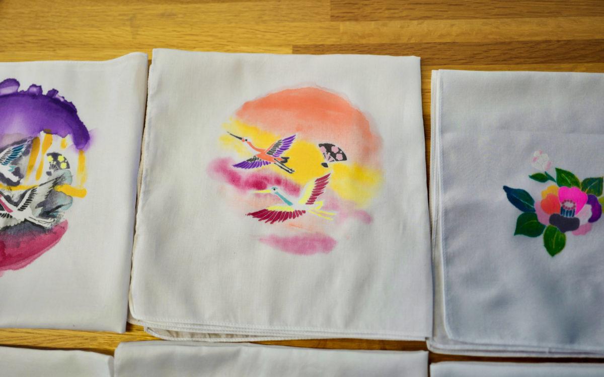 Kaga Yuzen dyeing experience