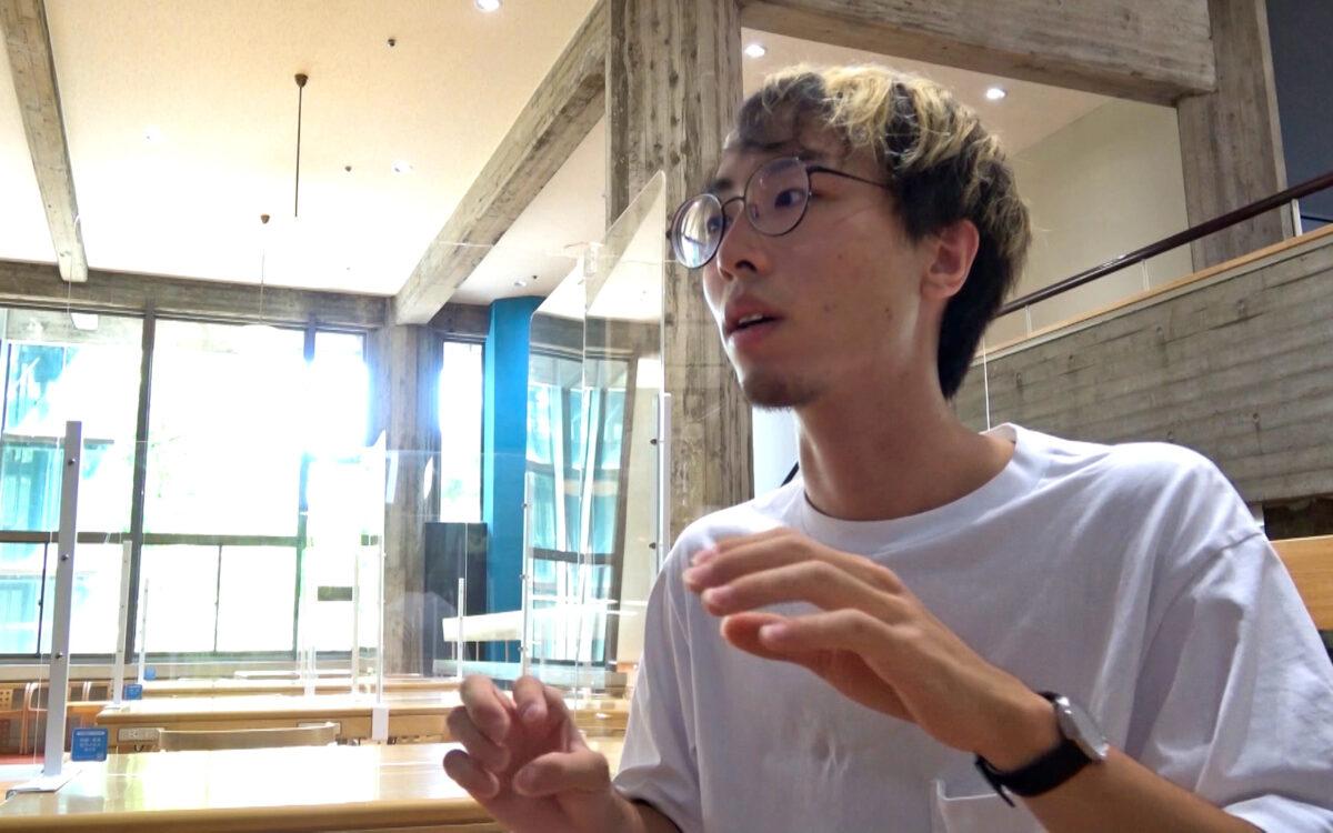 卒業生の金沢工業大学情報工学科4年の福田一之さんが「物語の始まりへ」に出演します。